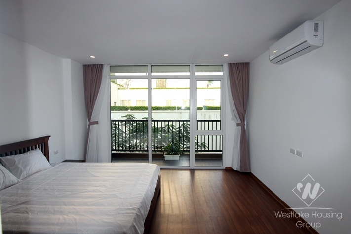 A beautiful and modern apartment for rent in Tay Ho, Ha Noi