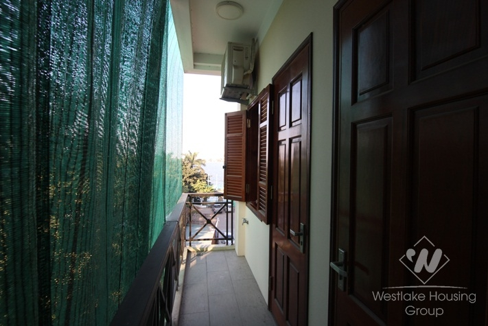 Lakeside two bedrooms apartment in Tay Ho, Hanoi