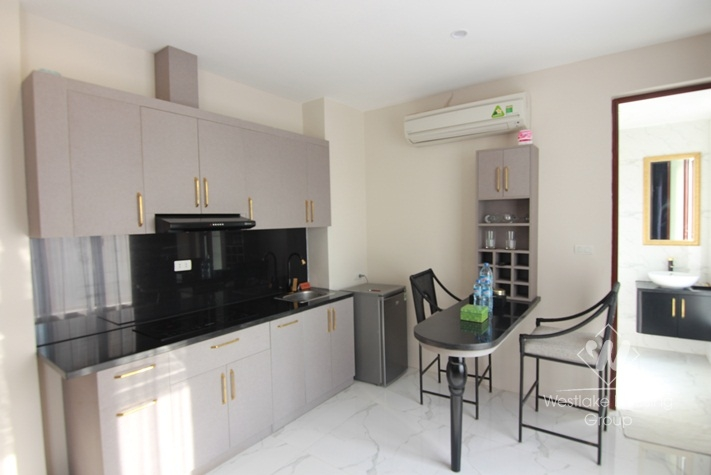 Full serviced utility bills included apartment for rent on To Ngoc Van, Tay Ho