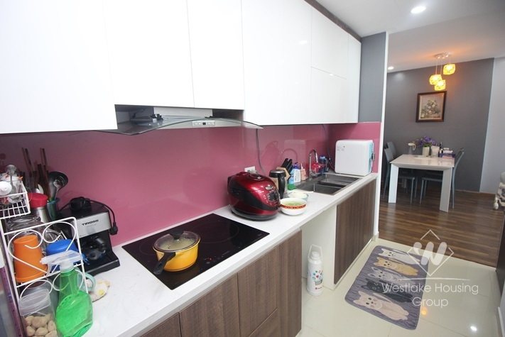 Charming apartment for rent with 02 bedrooms in Gold Mark City, Ho Tung Mau st.