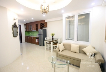 A brightly apartment for rent in Ba dinh, Ha noi