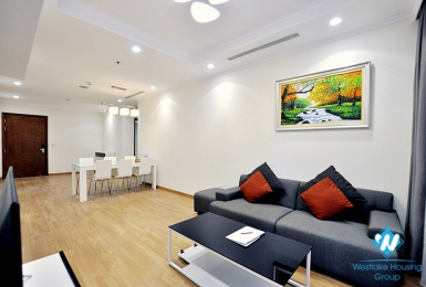 Modern three-star furnished three-bedroom apartment for rent at Time City Park Hill