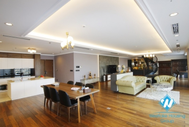 Luxury and modern design apartment for rent in Ba Dinh District