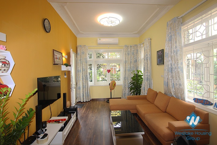 Bright apartment with 03 bedrooms for rent in Au Co St, Tay Ho, Hanoi