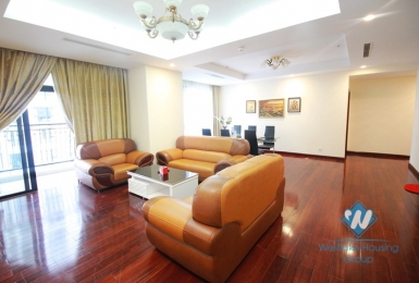 Large size and beautiful apartment for rent in Royal City, Thanh Xuan, Hanoi