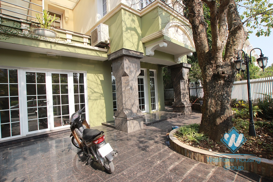 Big house with full furniture for rent in Ciputra, Tay Ho, Ha Noi