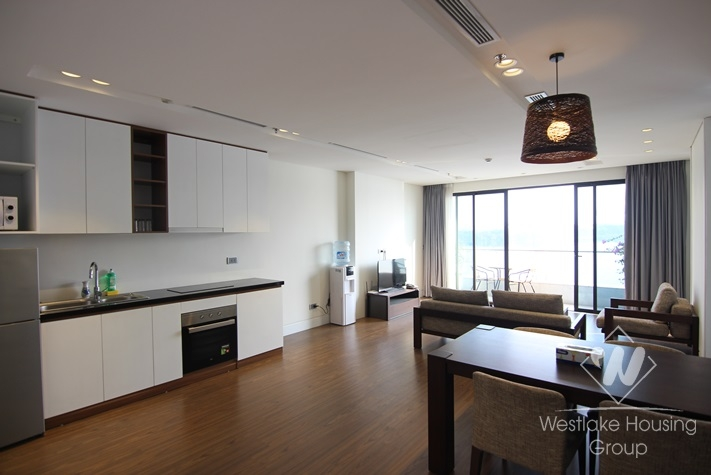 Lake view 02 bedrooms apartment for rent in Tay Ho district
