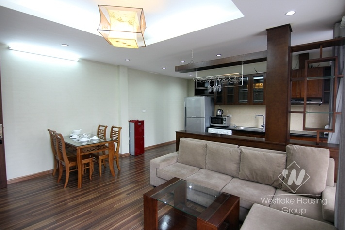A bright and beautiful apartment for rent in Tay ho, Ha noi