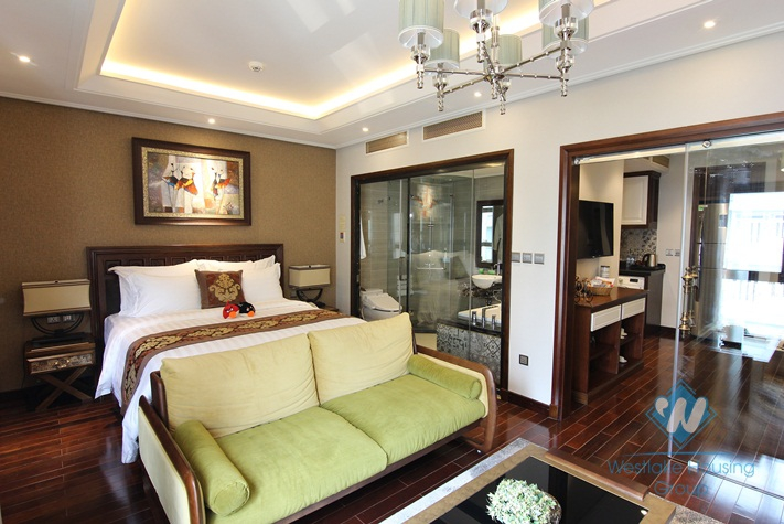 Luxury one bedroom apartment for rent in Hoan Kiem district Ha Noi