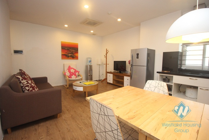 Beautiful two bedroom separate apartment for rent in Hoan Kiem District