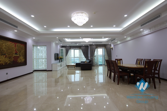 Brandnew luxurious apartment for rent in Ciputra complex, Tay Ho