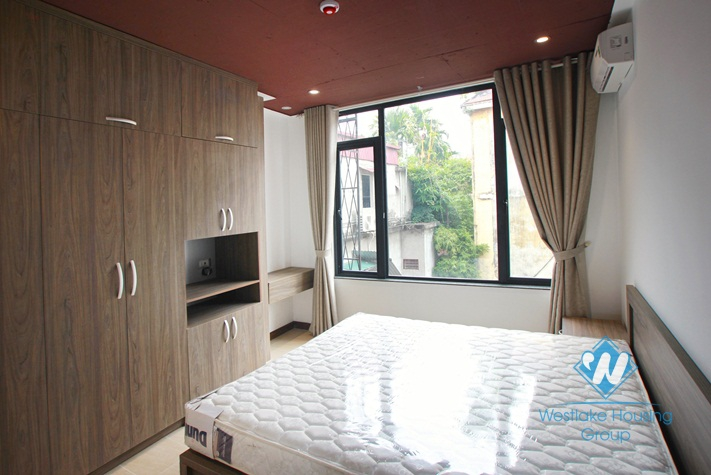 Beautiful and brand new apartment for rent in Nghi Tam Village, Tay Ho, Ha Noi