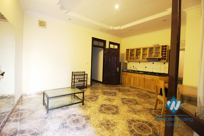 A large and affordable apartment for rent in Truc Bach, Ba Dinh, Ha Noi