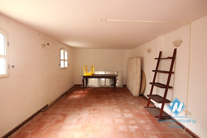 Lovely house for rent in Tay Ho with lots of light and outdoor space