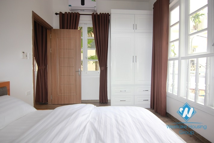 New and nice one bedroom apartment for rent on To Ngoc Van street, Tay Ho district, Ha Noi-Room 102