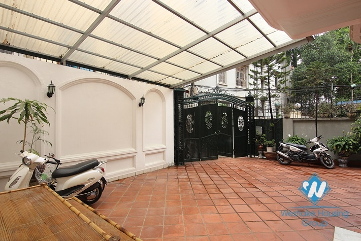 Cosy house for rent in To Ngoc Van street, Tay Ho district, Hanoi, fully furnished.