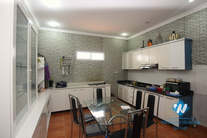 Good quality house for rent in Tay Ho, very close to lake side