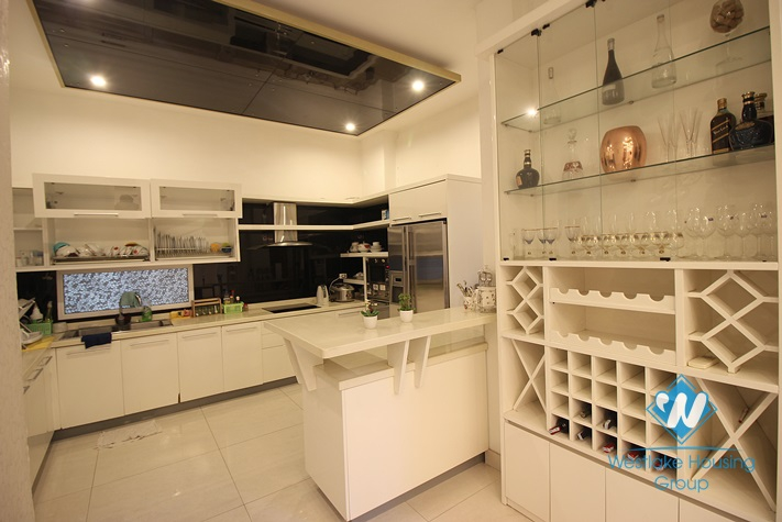 Modern and high quality house for rent in Tay Ho area