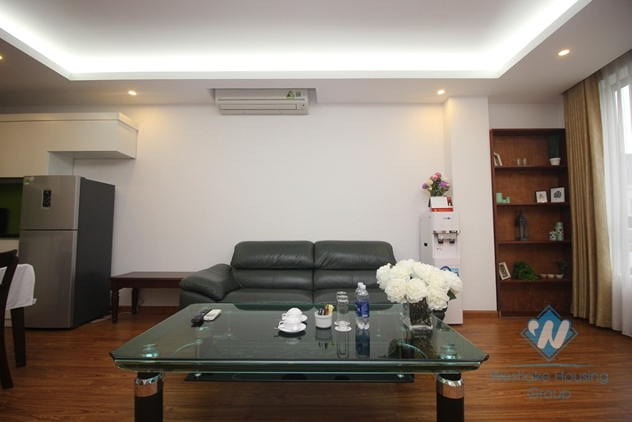 Big size apartment with 02 bedrooms for rent in Hai Ba Trung, Hanoi
