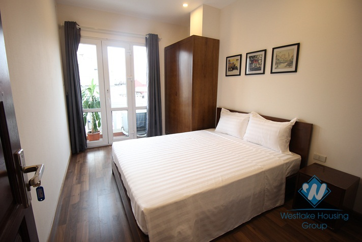 Brandnew apartment for rent in the central district Hai Ba Trung, Hanoi
