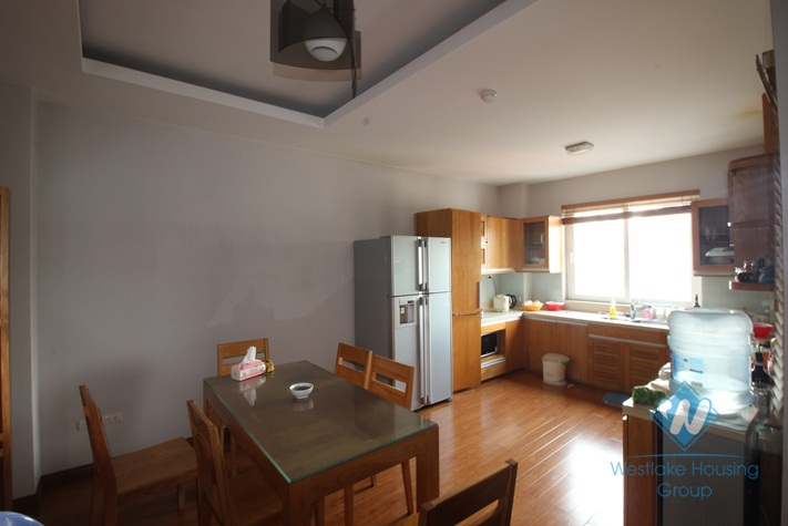 Furnished apartment  with 3 bedrooms in convenient location, Hai Ba Trung district