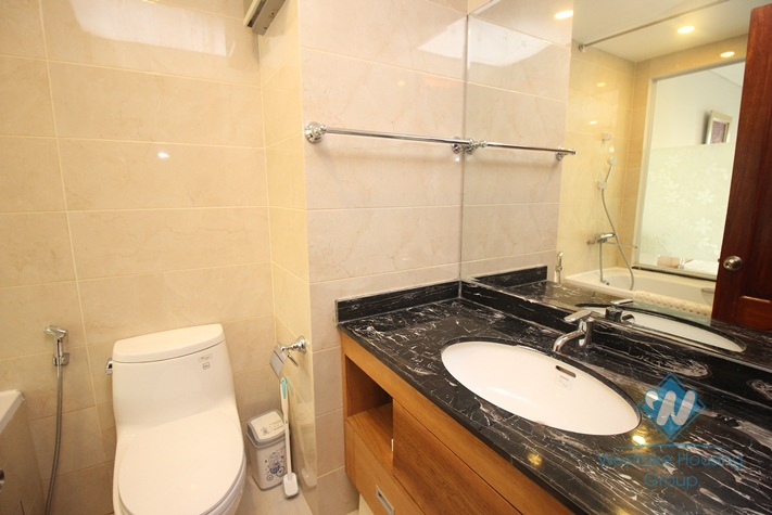 Luxury 01 bedroom apartment in high floor for rent in Hai Ba Trung district.