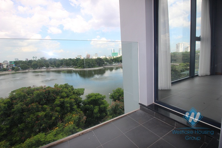 Modern and chic apartment for rent in Dong Da, Hanoi