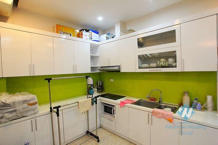 Nice small house on lakeside for rent in To Ngoc Van street, Tay Ho district, Hanoi