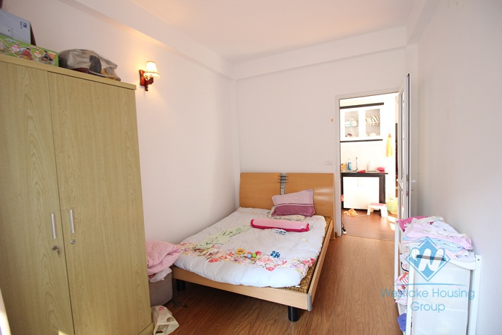 Furnished 02 bedrooms apartment for rent in Yen Phu Village, Tay Ho, Hanoi