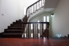 Five bedrooms house with big living space in Tay Ho for rent.