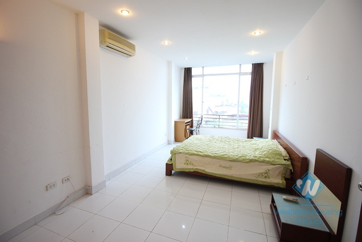 Spacious and affordable 2 bedrooms apartment for rent in Tay Ho, Hanoi