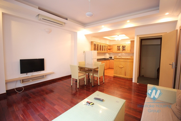 Bright, clean and spacious one bedroom apartment for rent on To Ngoc Van, Tay Ho, Hanoi