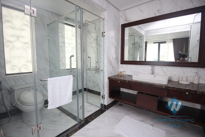 Two bedrooms beautiful apartment in Pho Hue is available for rent