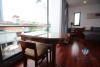 High quality serviced apartment for rent near Lotte Dao Tan, Ba Dinh