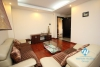 A high floor, 3 bedroom apartment for rent in central Westlake, Tay Ho