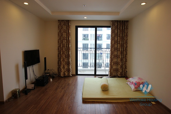 Furnished 2 bedroom apartment available for rent in Times City, Hanoi
