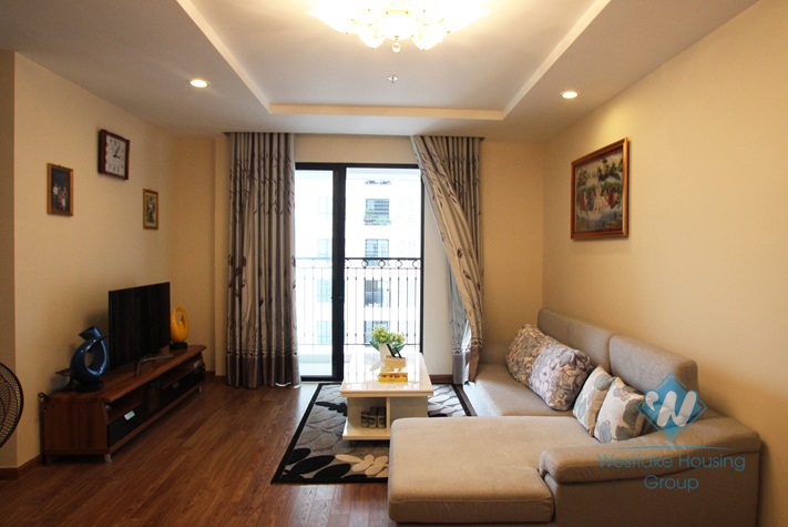 Furnished 3 bedroom apartment  for rent in Times city, Ha Noi