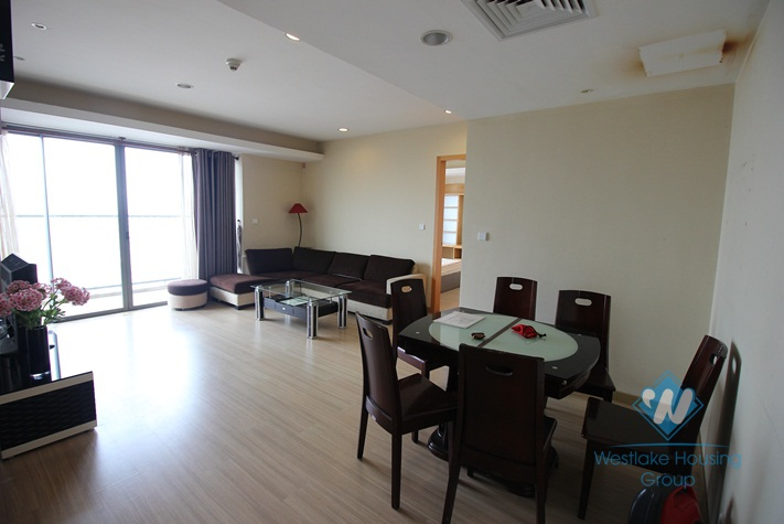 A high floor, modern apartment for rent in Skycity Towers, Lang Ha, Dong Da, Hanoi