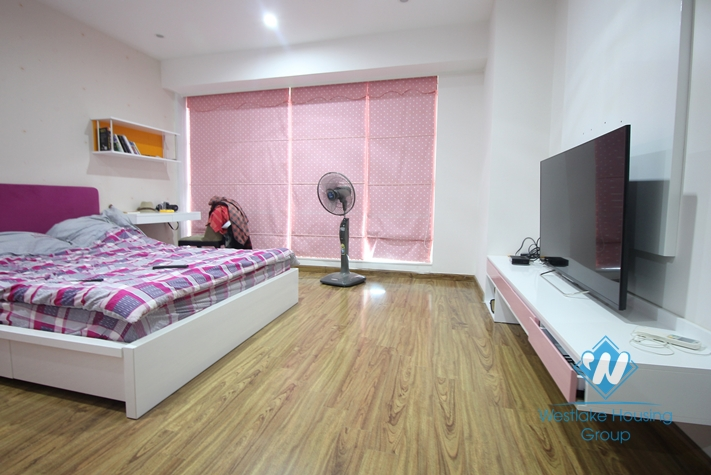 A brand new and high quality apartment of 267 m2 located on high floor with nice view for rent in L tower Ciputa, Hanoi