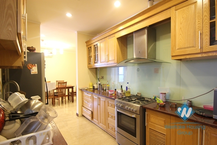 154sqm with 03 bedrooms apartment for rent in Ciputra, Tay Ho