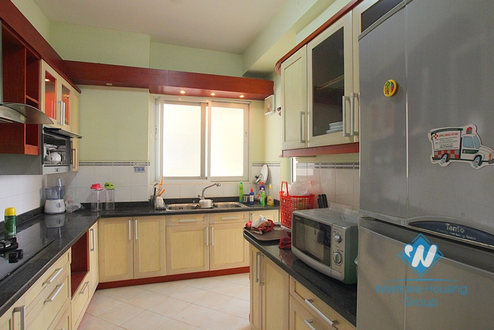 4 bedrooms apartment for rent in Ciputra, Tay ho, Hanoi