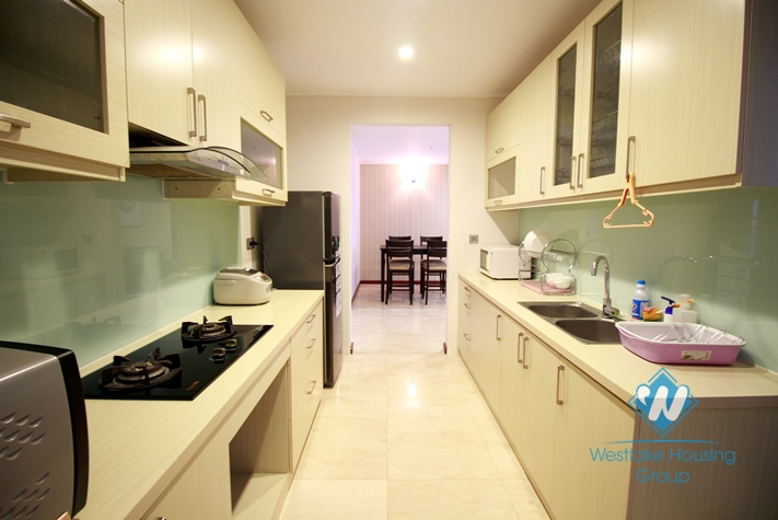 Furnished apartment for rent in L Ciputra