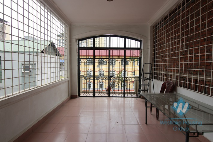 Fully furnished house for rent in Hai Ba Trung, Hanoi