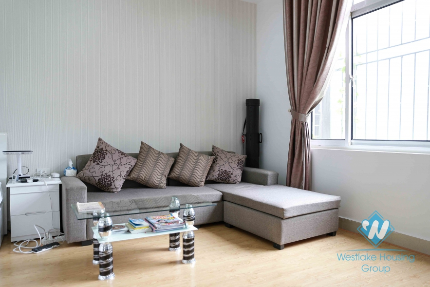 Spacious studio apartment, fully furnished for rent in Cau Giay District, Hanoi