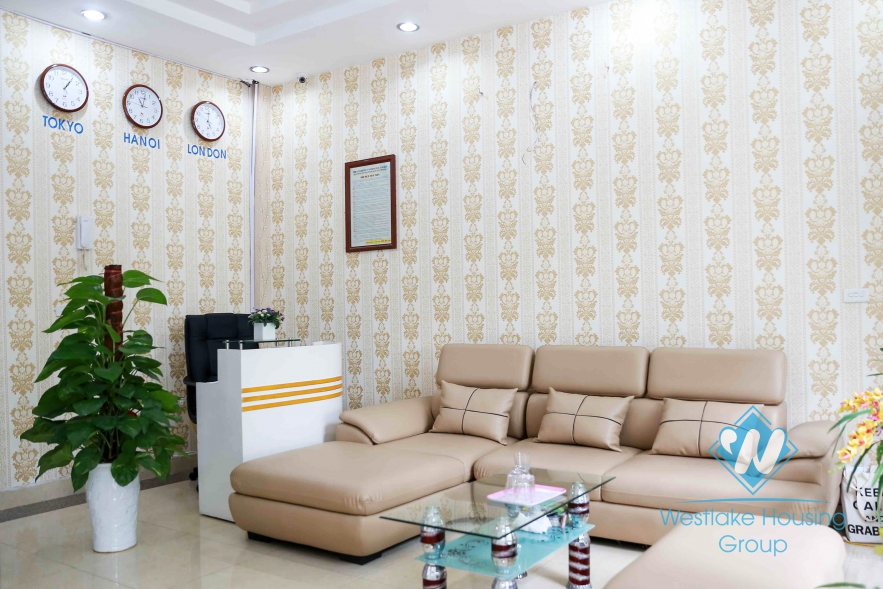 Beautiful 01 bedroom apartment for rent in Cau Giay area, Hanoi