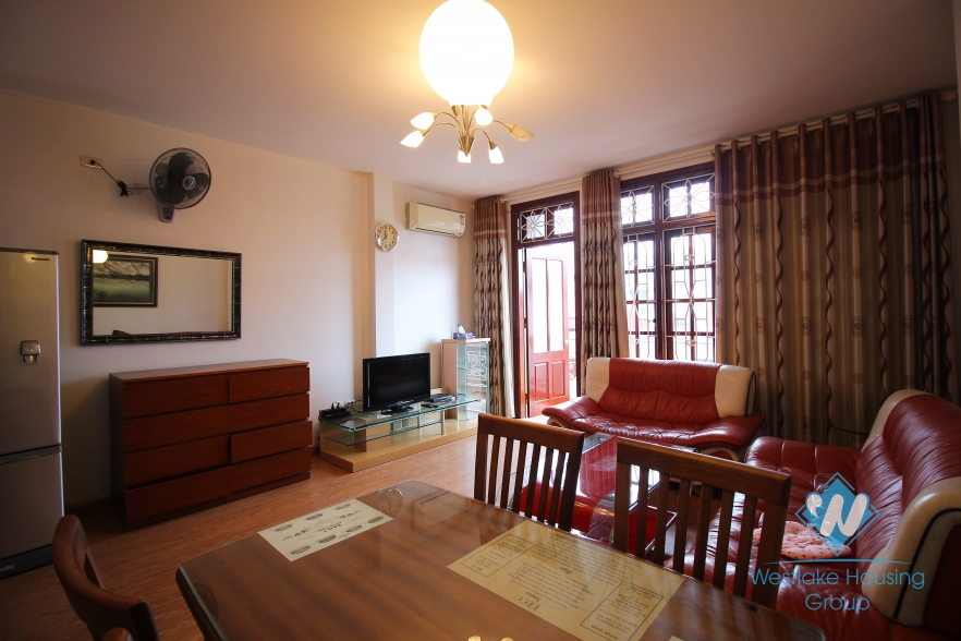 Spacious one bedroom apartment for rent in Ba Dinh, Hanoi