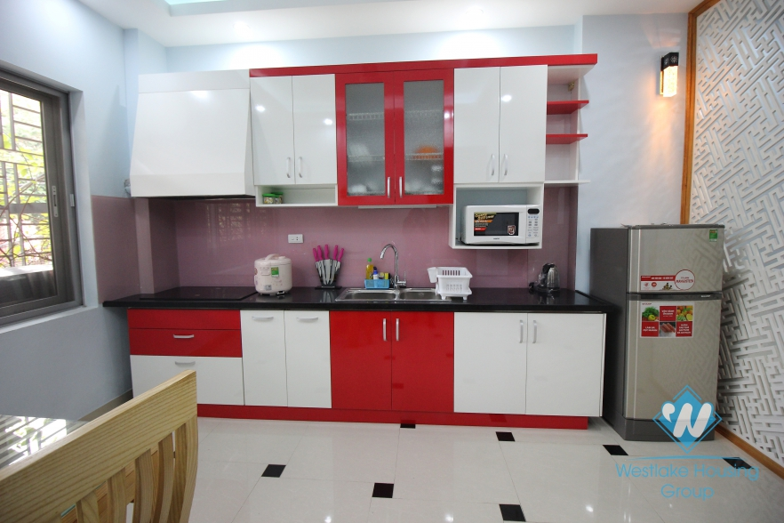 A beautiful and modern apartment for rent in Ba Dinh