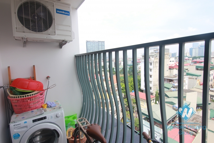 750 USD per month - A clean apartment for rent in 125 Hoang Ngan building, cau Giay district