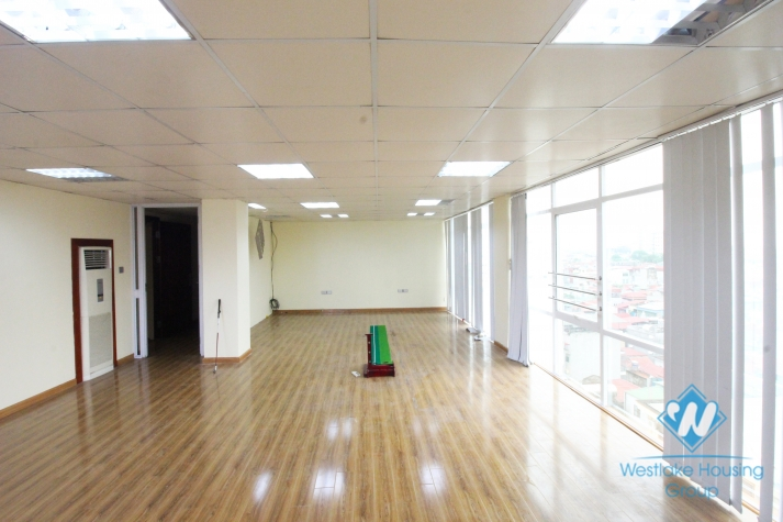Professional and bright office for rent in Linh Lang, Ba Dinh