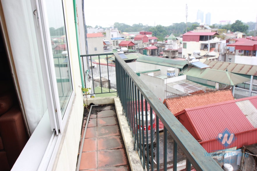 1 bedroom serviced apartment for rent in Ngoc Ha Street, Ba Dinh, Ha Noi